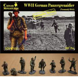 Caesar Miniatures 1:72 - German Panzergrenadier (Normandy 1944)