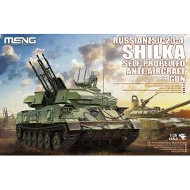 Meng Model 1:35 - Russian ZSU-23-4 Shilka Self-Propelled Anti-Aircraft Gun