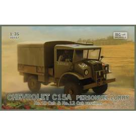 IBG Model 1:35 Chevrolet C15A Personnel Lorry (Cabs 12 and 13 in the box)