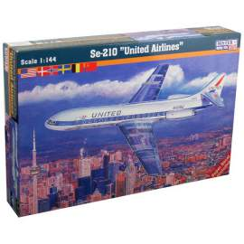 Mistercraft 1:144 Se-210 United Airlines