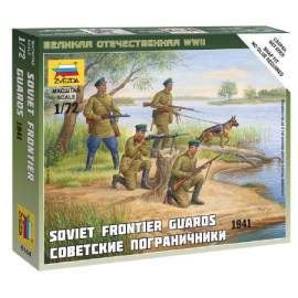 Zvezda 1:72 - Soviet Frontier Guard Military small set