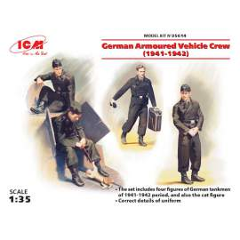 ICM - 1:35 German Armoured Vehicle Crew (1941-1942) (WWII)