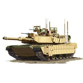 Tiger Models 1:72 M1A2 SEP TUSK II harcjármű makett