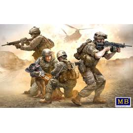 "Masterbox 1:35 ""No Soldier left behind - MWD Down"""