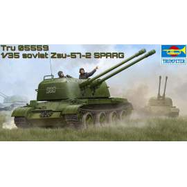 Trumpeter 1:35 - Russian ZSU-57-2 SPAAG