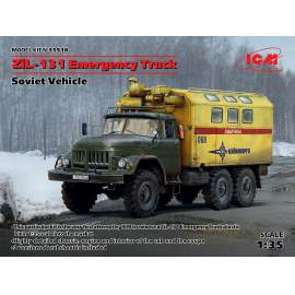 ICM 1:35 - ZiL-131 Emergency Truck, Soviet Vehicle