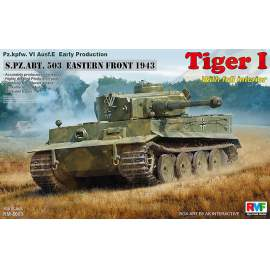 Ryefield model - Tiger I Early Production w/Full Interior