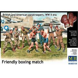 Masterbox 1:35 - British and American Paratroopers ´Friendly Boxing Match´