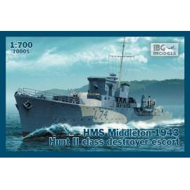 IBG 1:700 HMS Middleton 1943 Hunt II class destroyer escort