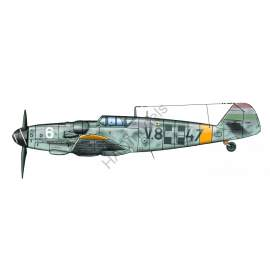 HADModels - 1:48 Messerschmitt Bf 109 G-6 decal sheet