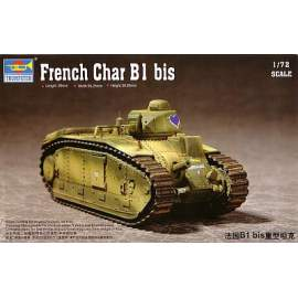 Trumpeter 1:72 French Char B1Heavy Tank