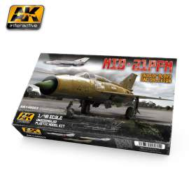 AK-Interactive 1:48 Mig-21 PFM Days of glory and oblivion