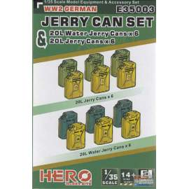 Hero Hobby 1:35 WWII German Jerry can water set
