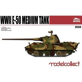 Modelcollect 1:72 Germany WWII E-50 Medium Tank with 88mm Gun