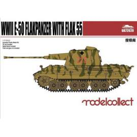 Modelcollect 1:72 German WWII E-50 Flakpanzer with Flak55