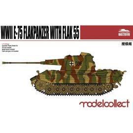 Modelcollect 1:72 Germany WWII E-75 Flakpanzer with Flak55
