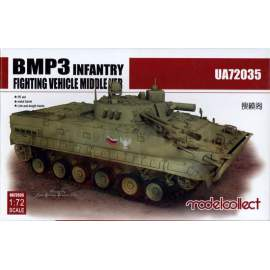 Modelcollect 1:72 BMP3 INFANTRY Fighting Vehicle middle Version