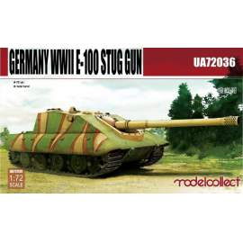 Modelcollect 1:72 German WWII E-100 STUG
