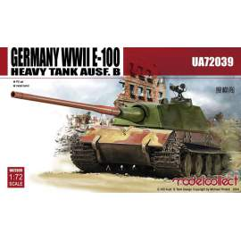 Modelcollect 1:72 Germany WWII E-100 Heavy Tank Ausf.B