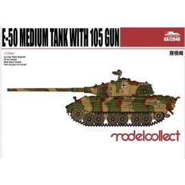 Modelcollect 1:72 Germany WWII E-50 Medium Tank with105mm gun