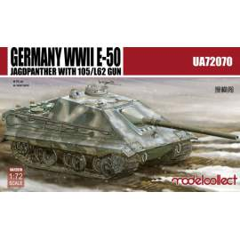 Modelcollect 1:72 Germany WWII E-50 Jagdpanzer with 105/L62