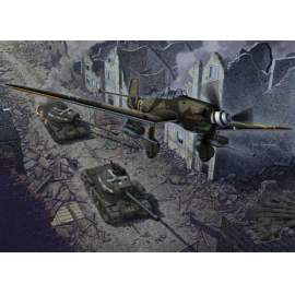 "Academy 1:72 Junkers Ju 87G-2 & JS-2  "" Limited edition"""