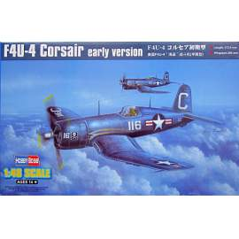 Hobbyboss - 1:48 F4U-4 Corsair early version