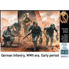 Masterbox 1:35 - German Infantry, WWII era. Early period