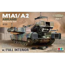 Ryefield model 1:35 M1A1/ A2 Abrams  with Full Interior 2 in 1