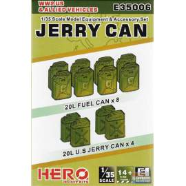 Hero Hobby 1:35 WWII US and allied jerry can set