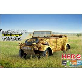 Hero Hobby 1:35 German PKW Typ K1 Kubelwagen Type 82