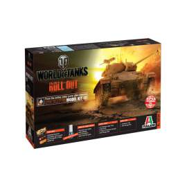 Italeri 1:35 World Of Tanks - M24 Chaffee