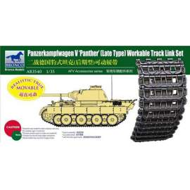 Bronco 1:35 Panther Late Type Workable Track LinkSet