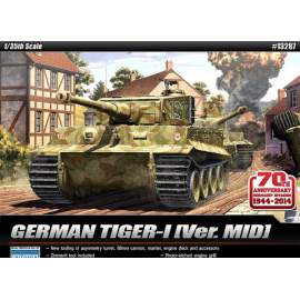 Academy 1:35 Tiger I. Mid ´70th Anniversary 1940´