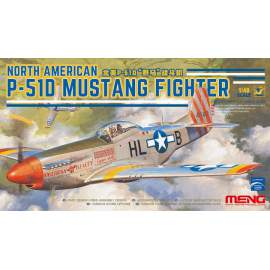 Meng Model 1:48 North American P-51D Mustang Fighter