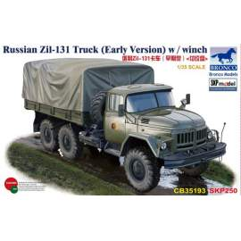 Bronco Model 1:35  Russian Zil-131 Truck (Early Version)