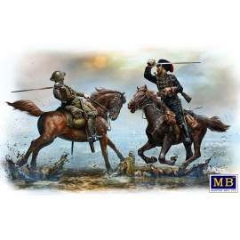 Masterbox 1:35 British and German Cavalrymen, WWI era