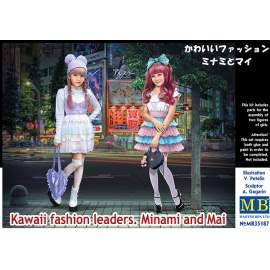 Masterbox 1:35 Kawaii fashion leaders. Minami and Mai