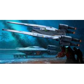 Revell easy kit - Star Wars - Rebel U-Wing Fighter with light and sound