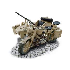 Italeri 1:9 BMW R75 Motorcycle with Sidecar