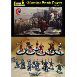 Caesar Miniatures 1:72 - Chinese Han Dynasty troopers