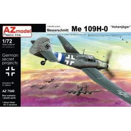 AZ Model - 1:72 Messerschmitt Bf-109 H-0