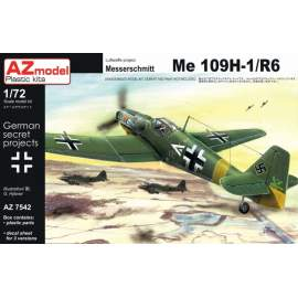 AZ Model - 1:72 Messerschmitt Bf-109 H-1/R6