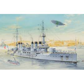 Hobbyboss 1:350 French Navy Pre-Dreadnought Battleship Voltaire