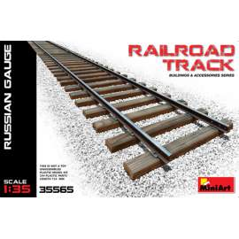 Miniart - 1:35 Railroad Track (Russian Gauge)