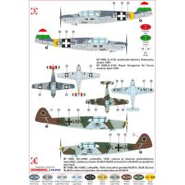 KP Model 1:72 Messerschmitt Bf 108B in axis service