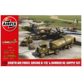 Airfix 1:72 WWII USAAF Eighth Air Force Resupply Set and Boeing B17G