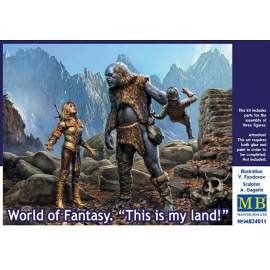 Masterbox 1:24 World of Fantasy - This is my land