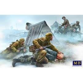 Masterbox 1:35 Crossroad, Eastern Front, WWII era