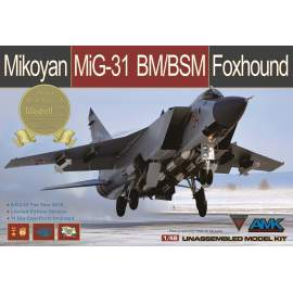 AMK - 1:48 Mikoyan MiG-31BM/BSM Foxhound (limited special edition)